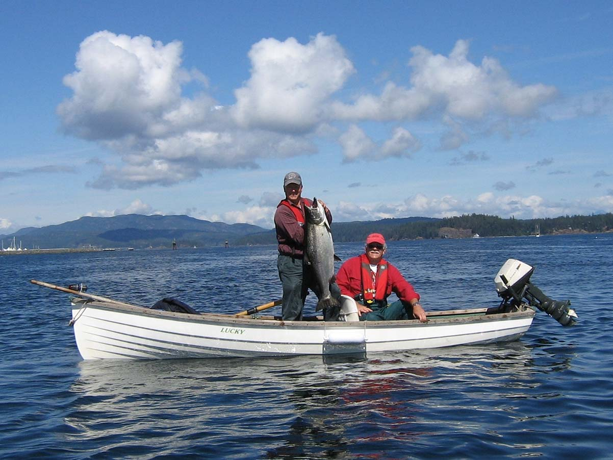 Fishing for Tyee - Gobright Fishing Charters