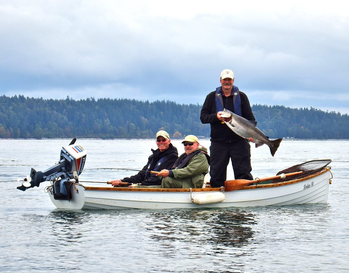 Salmon fishing campbell river bc brightfish charters for Campbell river fishing