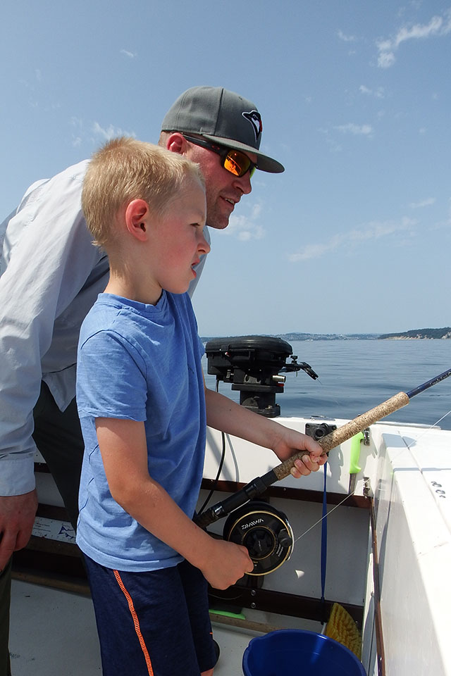 The catch of the Day - Salmon Fishing with Brightfish Charters