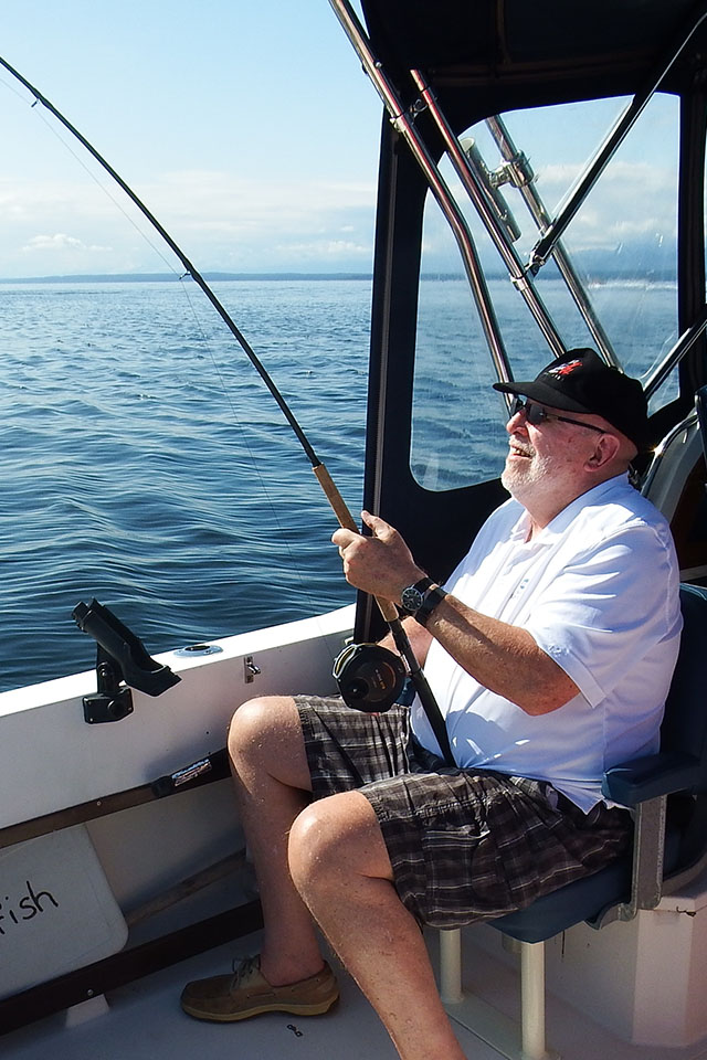 Campbell River Sport Fishing for Salmon