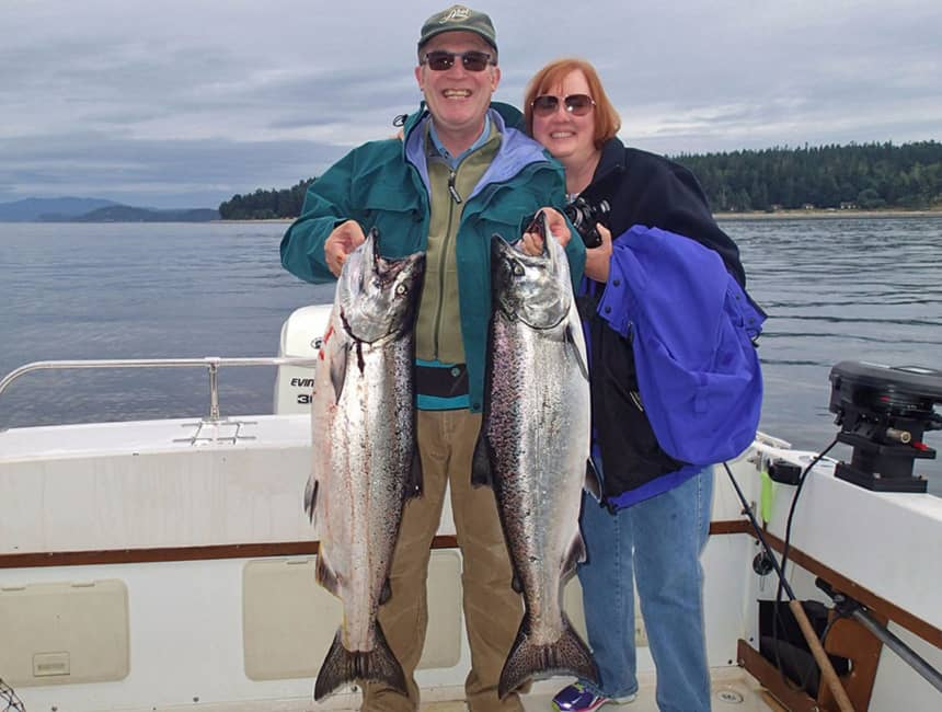 Your Campbell River salmon fishing guide & Tyee fishing specialist