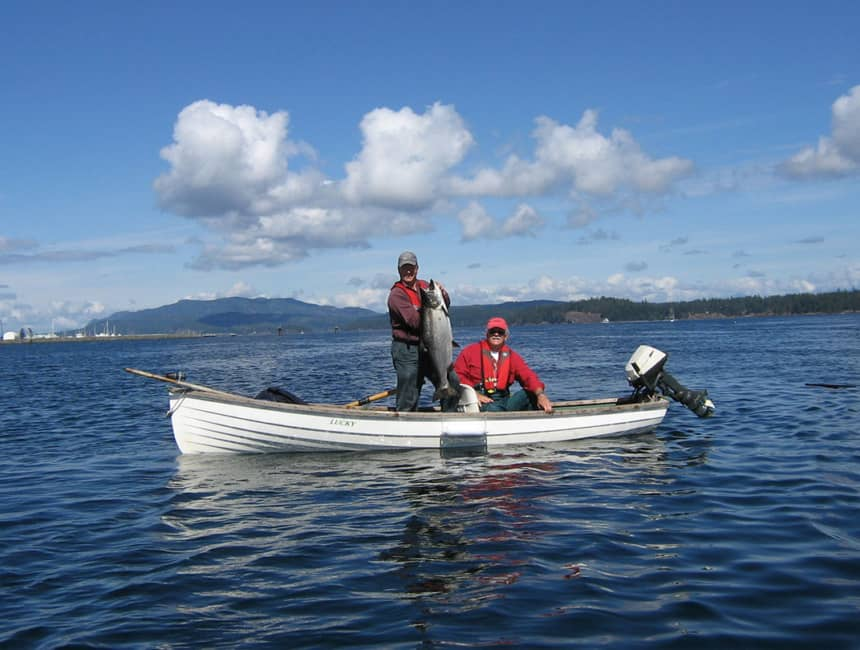 Tyee - Chinook salmon over 30 pounds